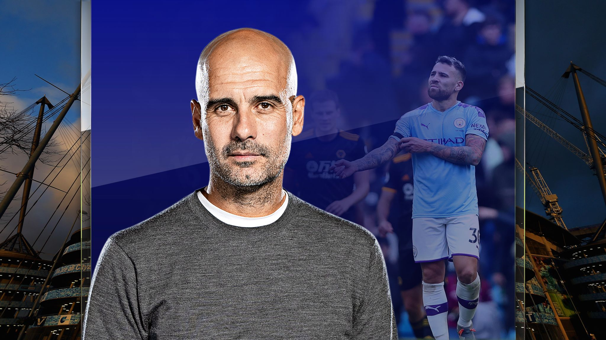 Pep Guardiola's Manchester City cannot control the counter-attack
