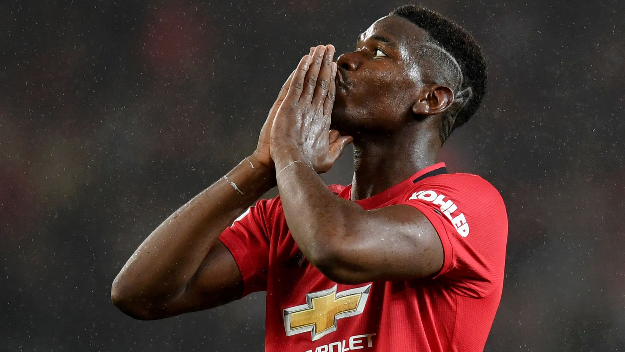 Paul Pogba hopes Manchester United youngsters replace him one day