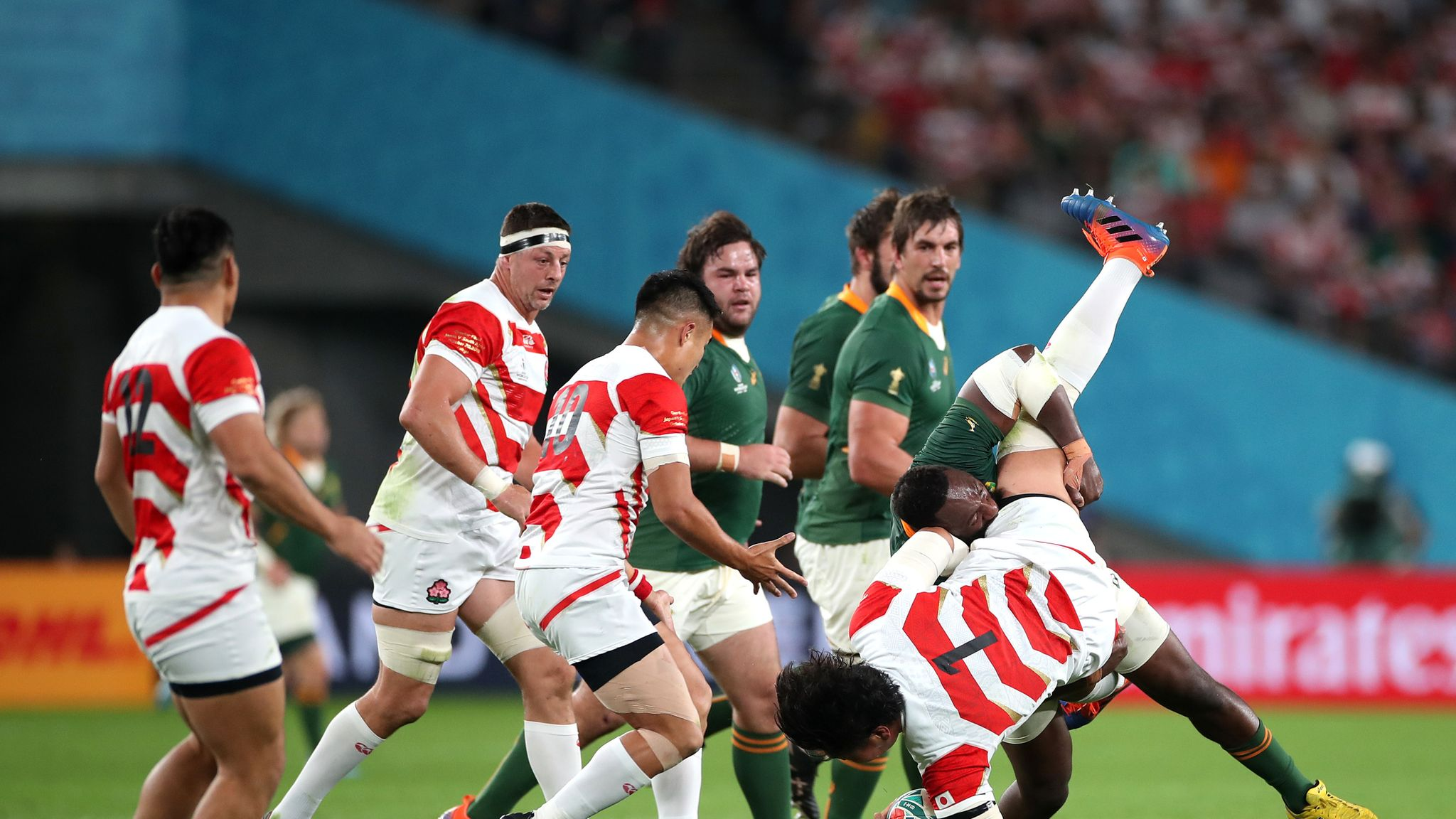 Japan 3-26 South Africa: Rassie Erasmus open to Brave Blossoms joining Rugby Championship