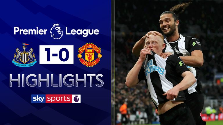 FREE TO WATCH: Highlights as Manchester United slipped to defeat at Newcastle