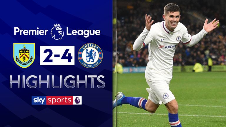 Highlights of Chelsea's 4-2 win at Burnley in the Premier League