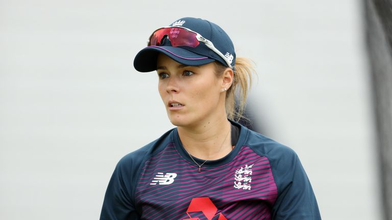 Alex Hartley has taken 39 wickets in 28 ODIs for England Women, at 24.35 apiece
