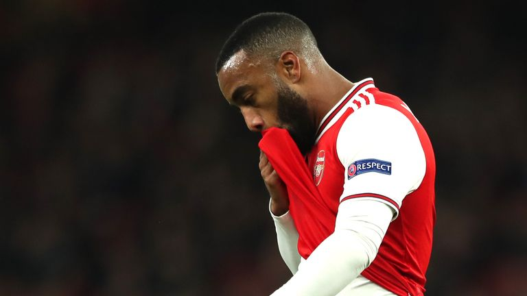 Alexandre Lacazette's contract runs out in the summer of 2022