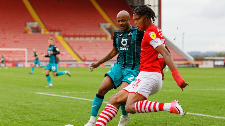 Managerless Barnsley drew 1-1 with Swansea at Oakwell on Saturday