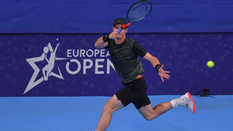 Murray was victorious on Thursday night to reach the last eight