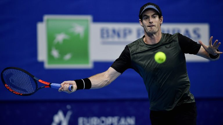 Andy Murray reaches 1st final since hip surgery in Antwerp