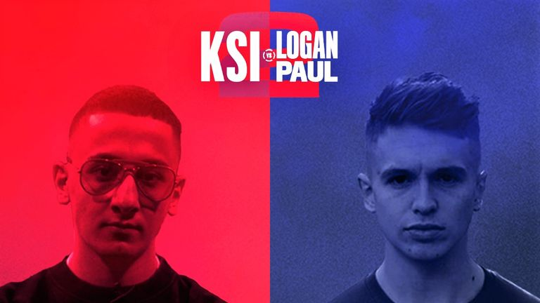 KSI vs Logan Paul 2: AnEsonGib and Joe Weller join Sky Sports team for spectacular rematch | Boxing News |