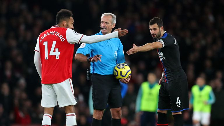 Arsenal had a late winner against Crystal Palace disallowed by VAR, but Dermot Gallagher did not agree with the decision