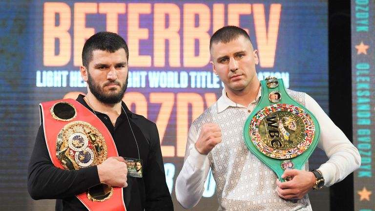 Beterbiev and Gvozdyk are the division's best, says Callum Johnson