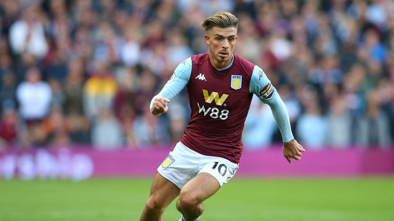 Jack Grealish has four goals and four assists in all competitions this season