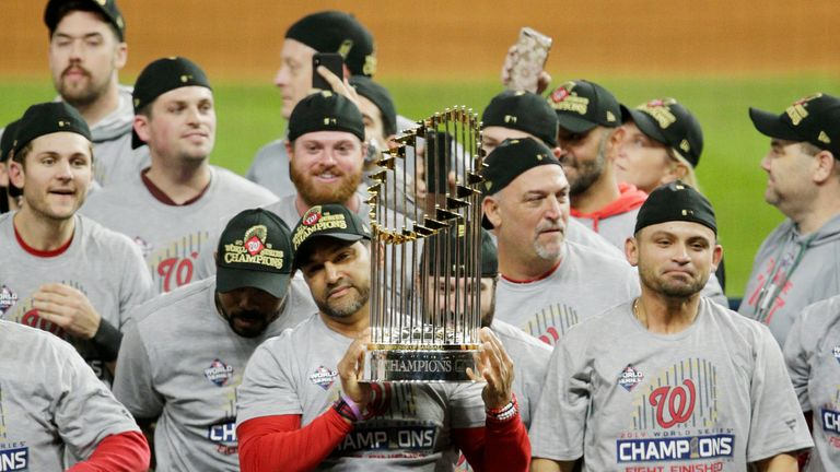 World Series champions the Washington Nationals are off to the White House