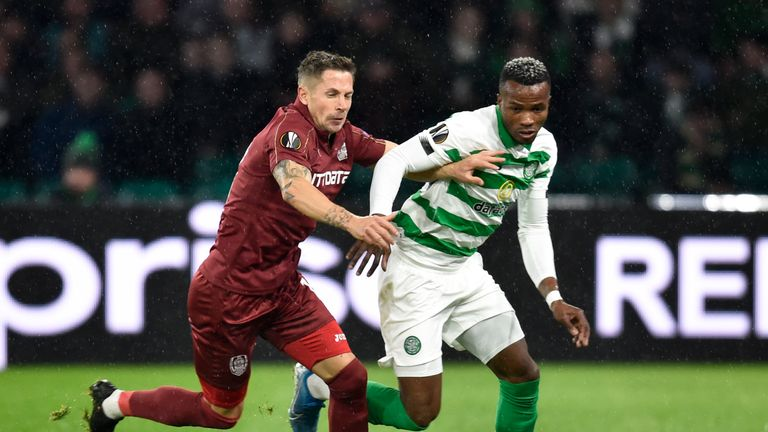 Celtic beat their Romanian opponents 2-0 on Thursday