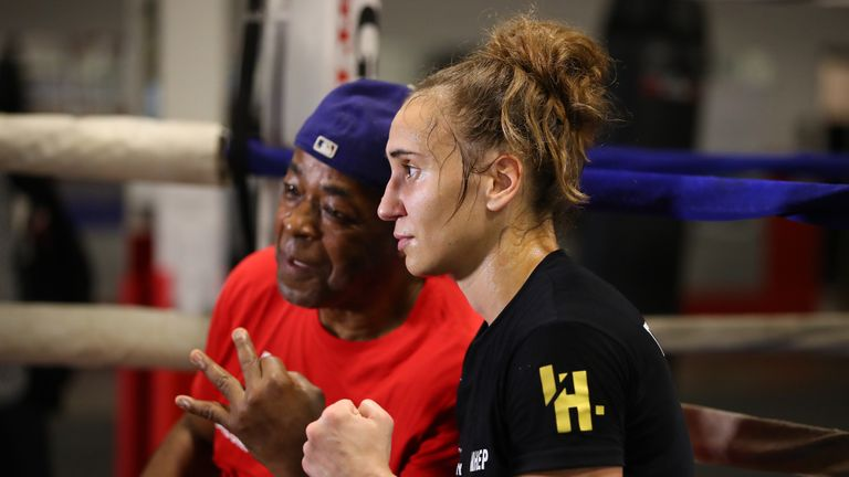 James Ali Bashir had been getting Ivana Habazin ready for Saturday's world title fight