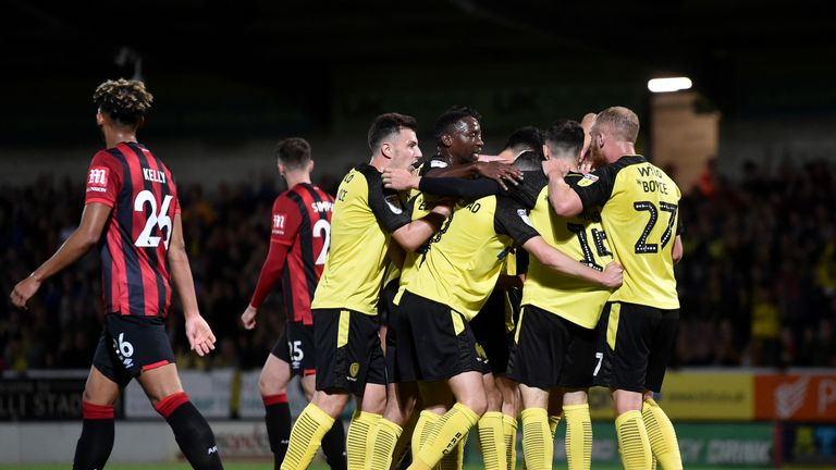 Burton will be hoping for another Premier League scalp in the Carabao Cup