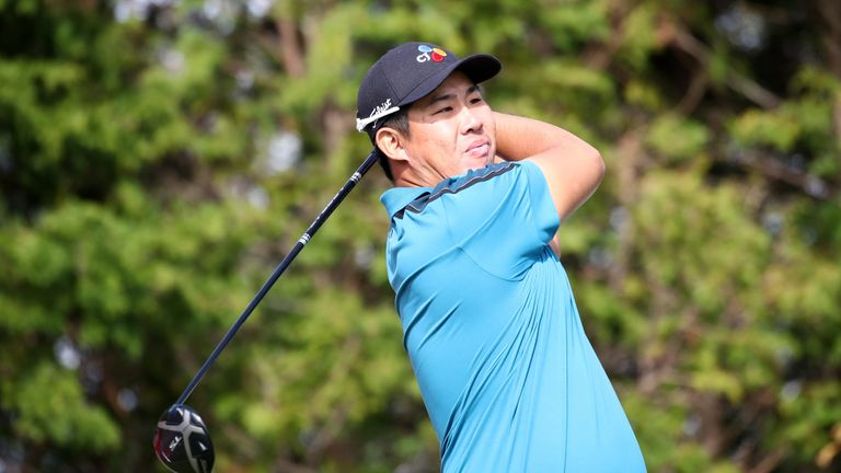 Byeong Hun An gave his home fans plenty to cheer on day one