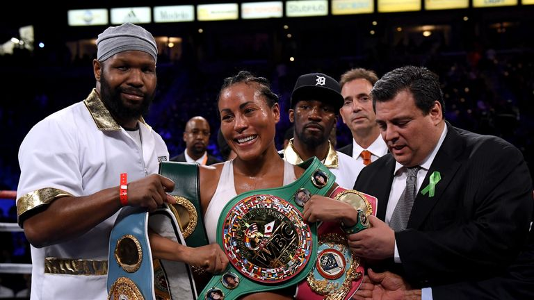 Cecilia Braekhus is 35-0 and has been undisputed champion since 2014