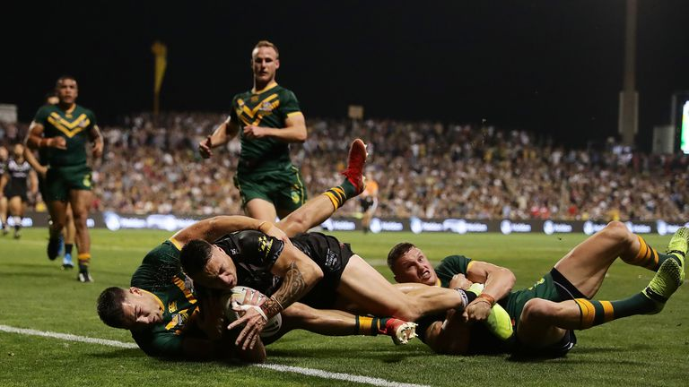 Charnze Nicoll-Klokstad's unconverted try was only a consolation for New Zealand