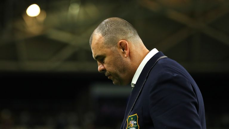 Michael Cheika has regrets for not delivering any major trophies with Australia