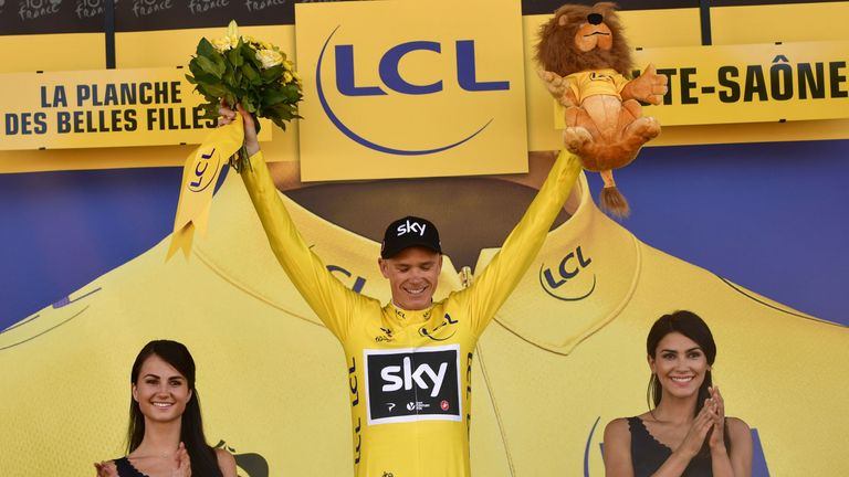 Froome is a four-time winner of the Tour de France