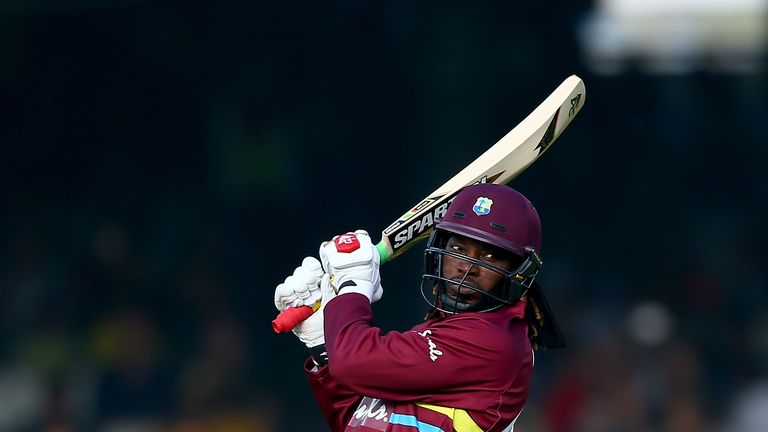 Is Chris Gayle in danger of not being drafted after setting his reserve price at the highest £125k mark?