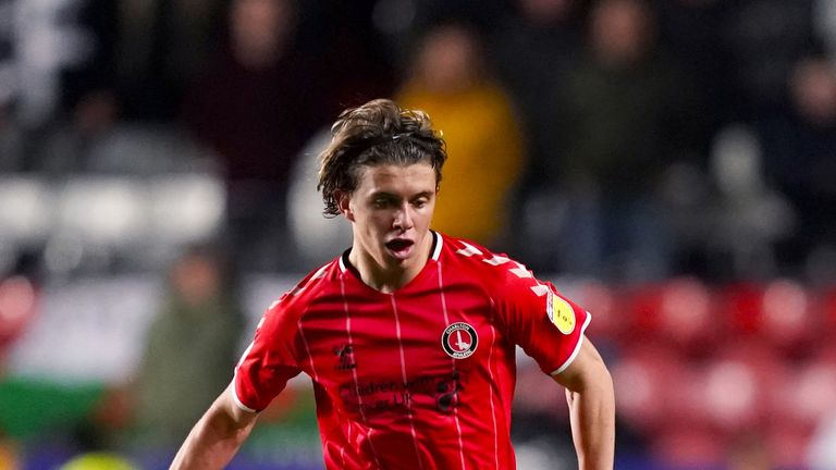 Conor Gallagher has scored four times for Charlton this season