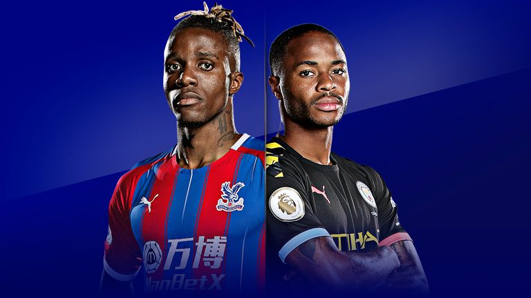 Crystal Palace vs Man City will be live on Saturday Night Football from 5pm