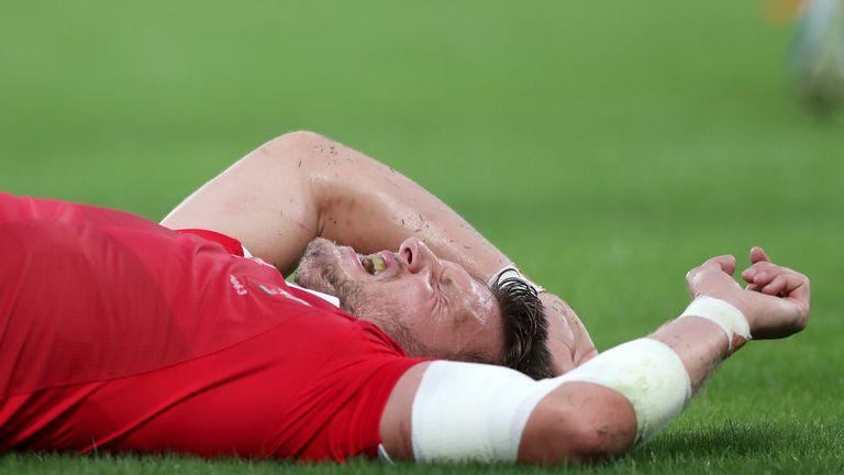 Biggar was injured during Wales' 25-29 victory over Australia in Tokyo
