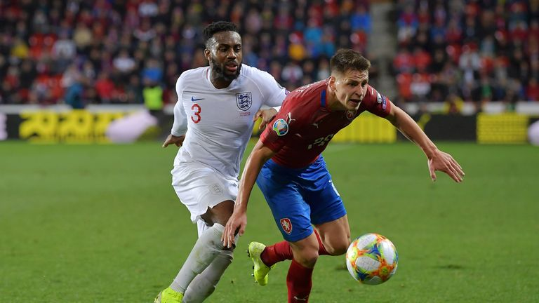 Rose is with the England squad for their European Qualifiers against Montenegro and Kosovo this week