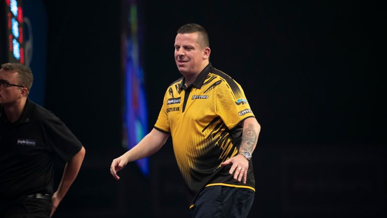 Chisnall lost a fifth successive major PDC final