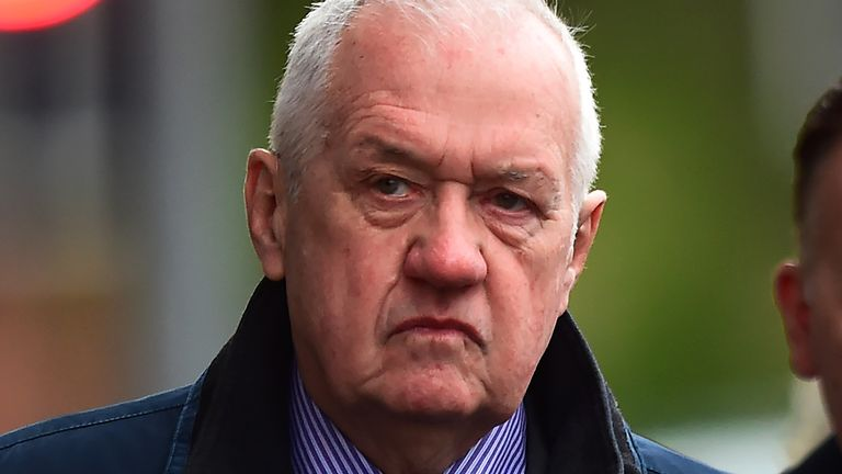 David Duckenfield denies the gross negligence manslaughter of 95 Liverpool supporters