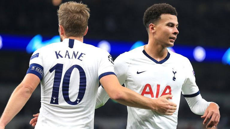Tottenham showed signs of a return to form in thrashing Red Star Belgrade