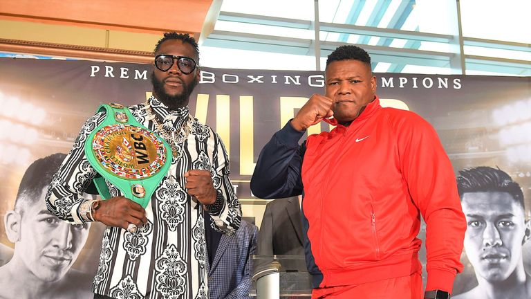 Wilder resumes his rivalry with Ortiz at the MGM Grand in Las Vegas
