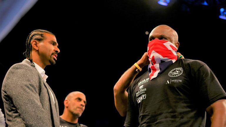 Derek Chisora is fighting on same bill as Okolie, live on Sky Sports Box Office