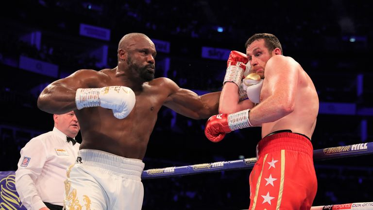 Chisora stopped Price in the fourth round at The O2