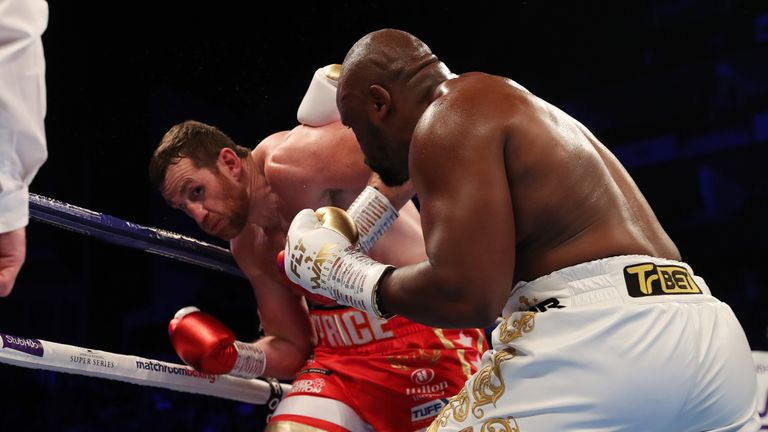 Chisora has been chasing Usyk since beating Price