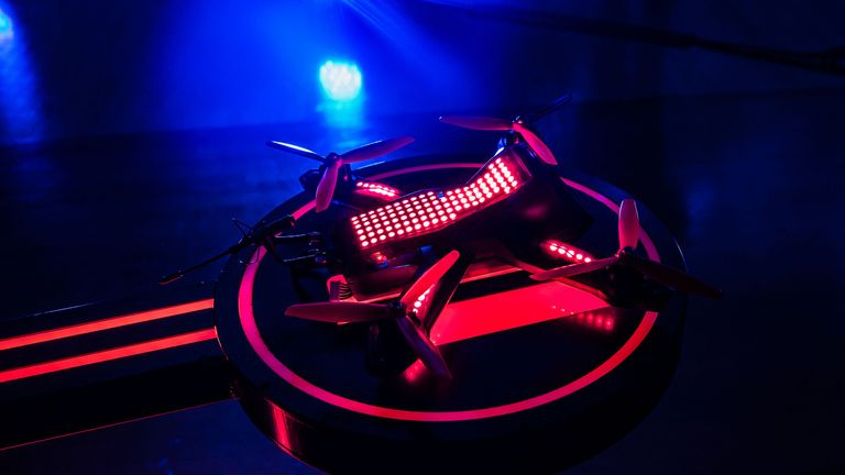 Drone Racing on Sky Sports