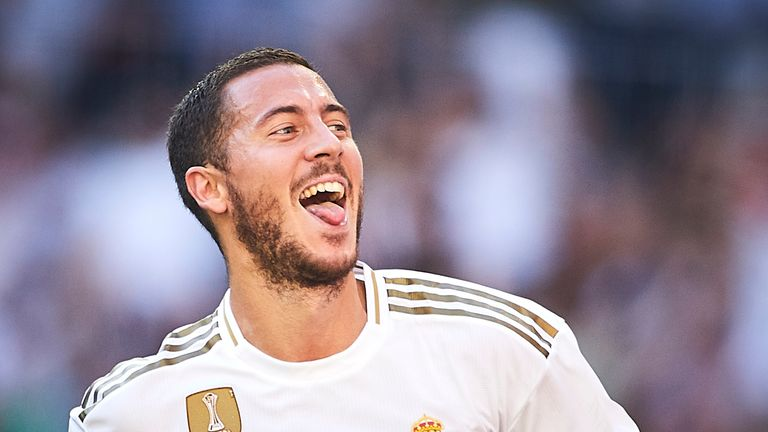 Eden Hazard scores first goal for table-topping Real Madrid - European round-up