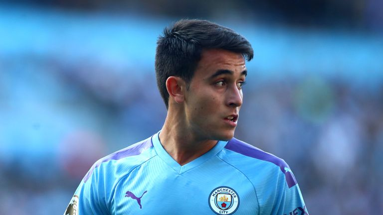 Eric Garcia has played as a makeshift centre-back in recent weeks