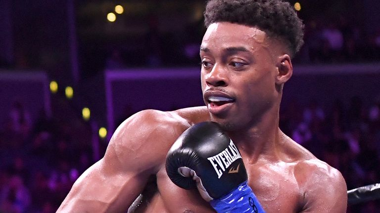 Errol Spence holds the WBC and IBF belts at welterweight