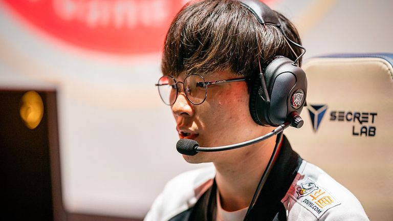 SKT made their return to Worlds after missing out last year (Credit: Riot Games)