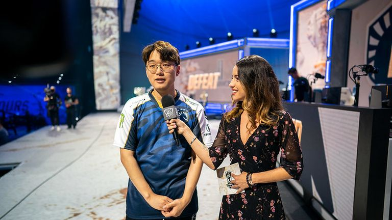 Team Liquid's CoreJJ says they expected to beat Damwon Gaming (Credit: Riot Games)
