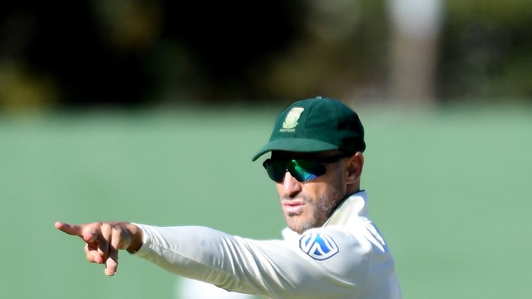 Faf du Plessis says South Africa 'do not see colour' when it comes to selection