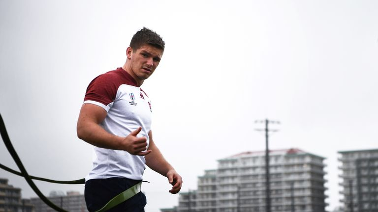 Farrell was speaking to Sky Sports after England's damp and blustery training session in Chiba