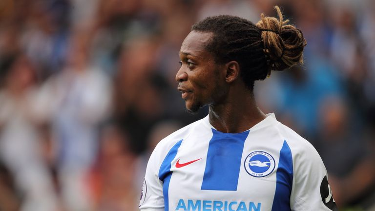 Gaetan Bong was allegedly abused during Brighton's clash with Burnley in February