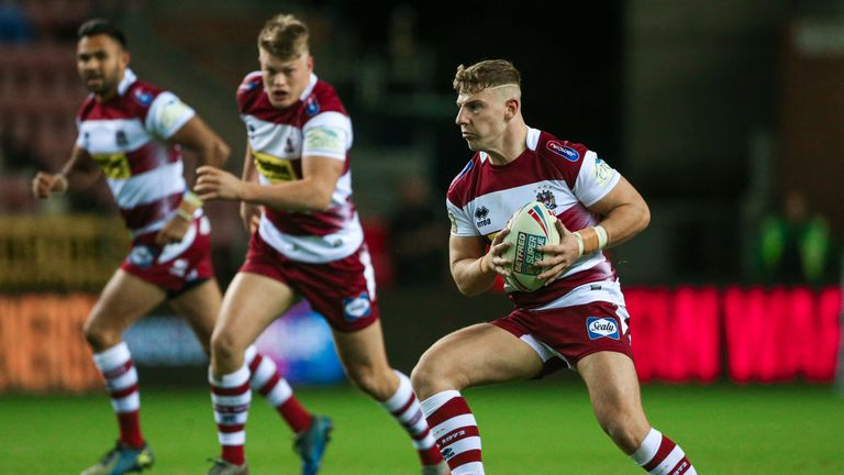 George Williams' final game for Wigan ended in disappointment