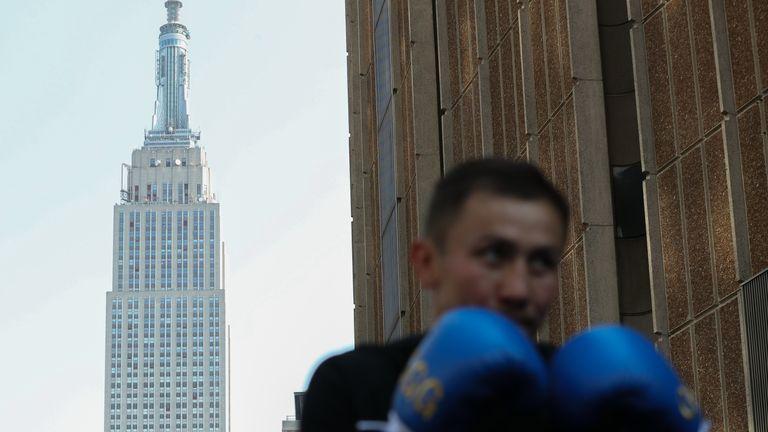 Golovkin headlines at New York's Madison Square Garden