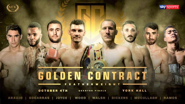 The Golden Contract: Ryan Walsh happy to be picked after a career of being 'avoided' | Boxing News |