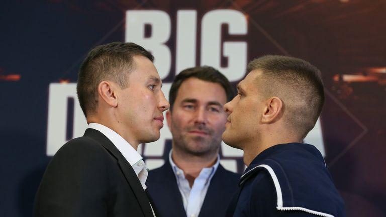 GGG faces Sergiy Derevyanchenko - Saturday night, 2am, Sky Sports Action