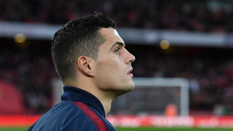 Does Granit Xhaka have a future at Arsenal following his recent show of dissent?