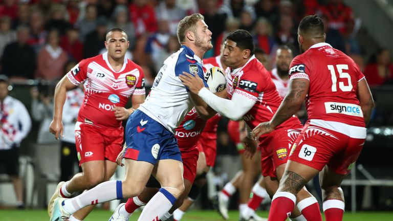 Tom Burgess is hopeful Great Britain can rebound from a defeat to Tonga
